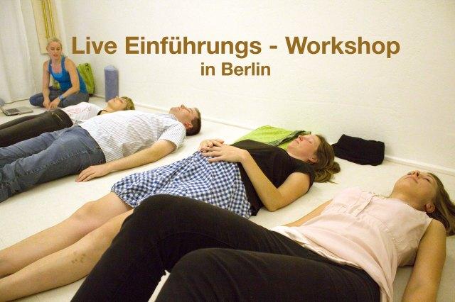 Live Einführungs-Workshop in Berlin: Projektive Traumarbeit & Luzides Träumen.