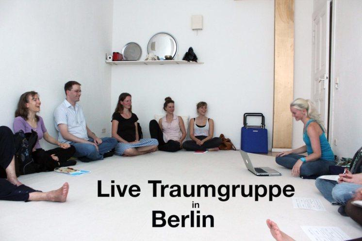 Trainiere luzides Träumen und interpretiere Träume in der Live Traumgruppe in Berlin.