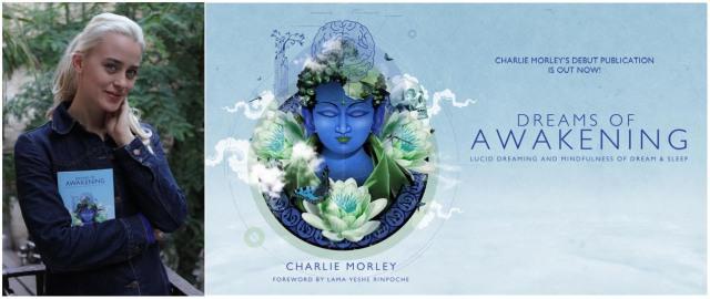 """Der Gewinner von Charly Morley´s Buch """"Dreams of Awakening"""" über das luzide Träumen steht fest: Julia!"""